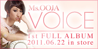 Ms.OOJA Voice(1st FULL ALBUM)2011.6.22